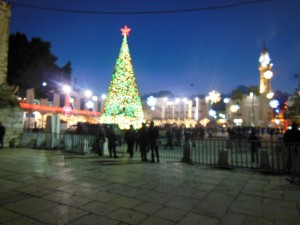 Bethlehem at Christmas
